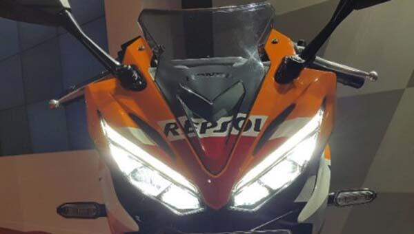 All New CBR150R Headlamp