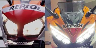 Lampu Honda CBR150R 2015 vs All New CBR150R 2016