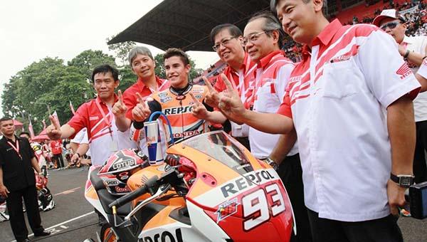 Marquez rilis Honda CBR150R tahun lalu