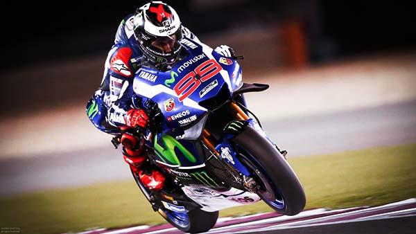 Duo Yamaha tercepat di FP1 Qatar
