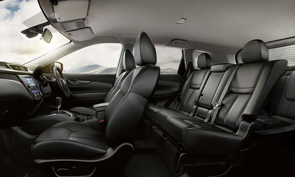 Nissan X-Trail tempat duduk