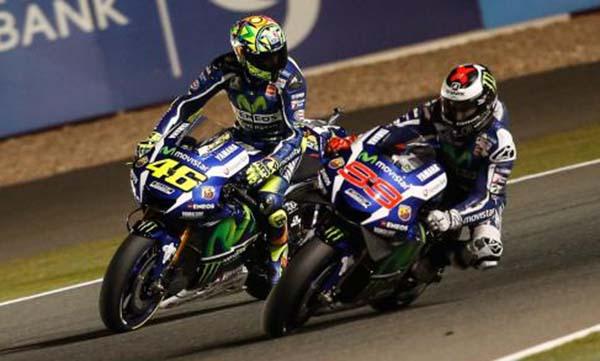 Rossi dan Lorenzo kembali terlibat Rivalitas
