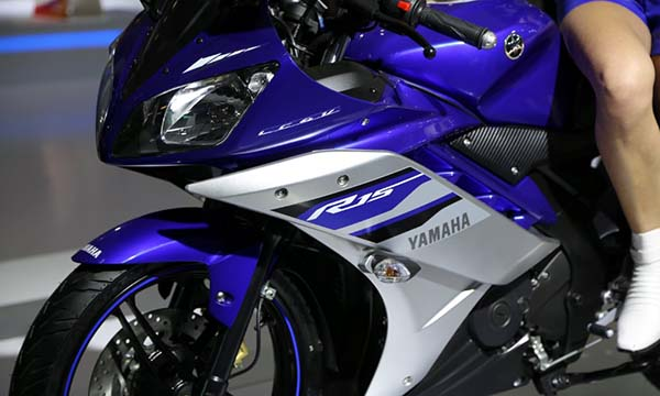 Yamaha R15 Special Edition Revving Blue