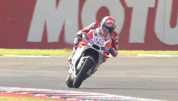 Hasil FP1 MotoGP Argentina, Dovizioso tercepat