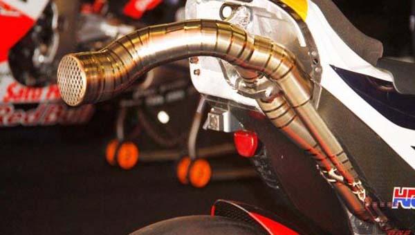 Knalpot baru Honda RC213V