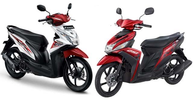 Skutik Honda-Yamaha