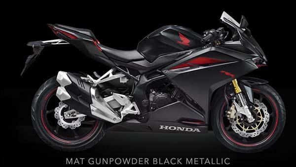 Pilihan Warna Honda CBR250RR Warna Hitam Merah