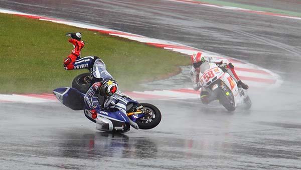 Lorenzo crash di Assen 2011