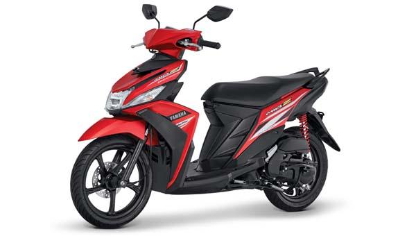 Warna baru Yamaha Mio Z Merah Zuper