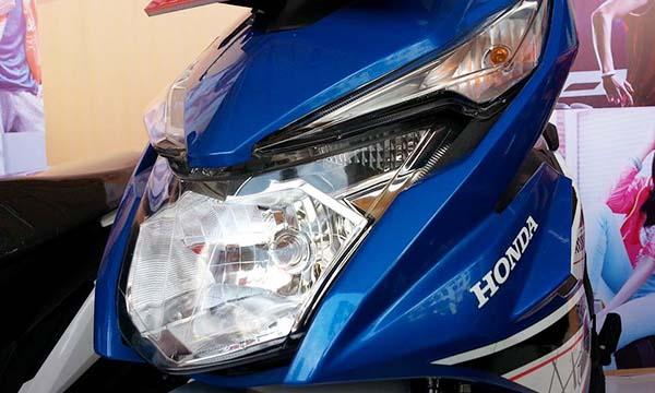 Hedlamp Honda BeAT eSP 2016, lampu belum LED