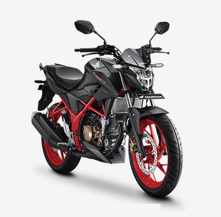 Pilihan Warna Honda CB150R 2017 Warna Hitam Teralis Merah