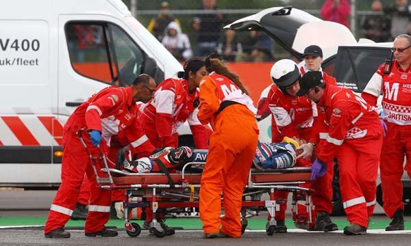 Loriz Baz crash di Ceko