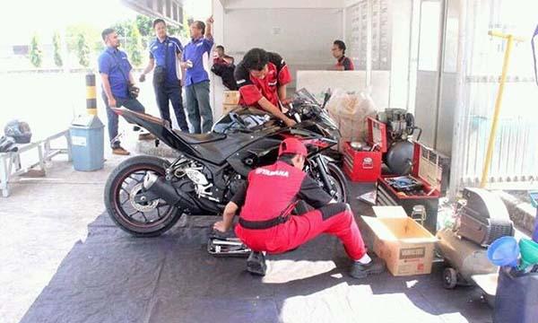 Recall Yamaha R25