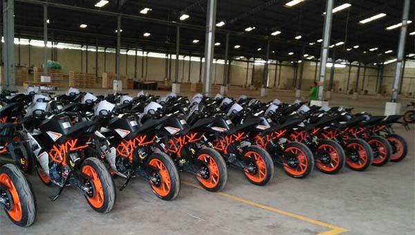 KTM RC dan Duke siap di Distribusikan