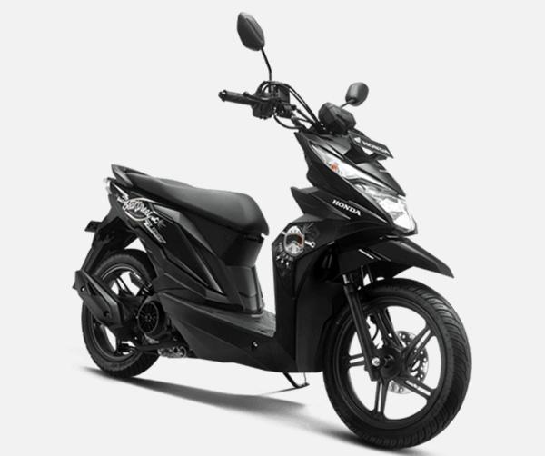 Pilihan Warna Honda BeAT Street warna hitam