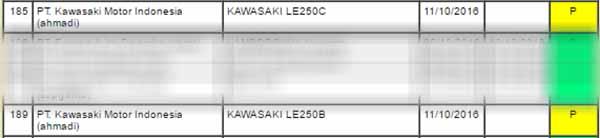 TPT Kawasaki Versys 250