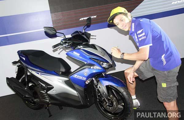 Diperkenalkan juga oleh Valentino Rossi