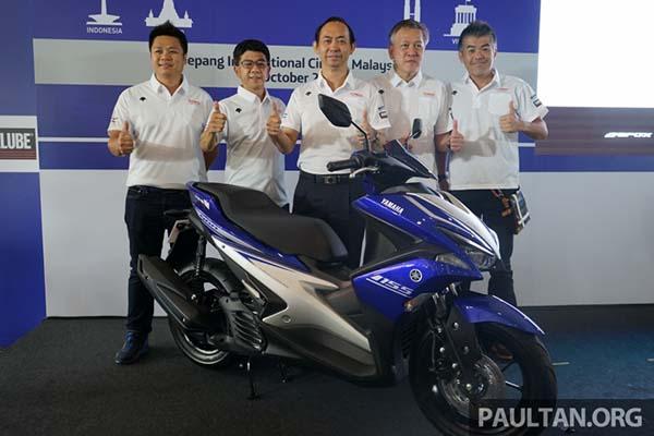 Yamaha Aerox 155 diperkenalkan