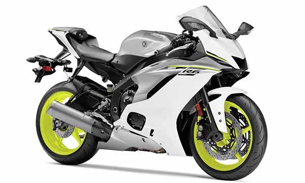 Yamaha R6 2017 White Matte
