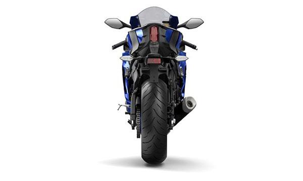 Yamaha R6 2017 dari belakang