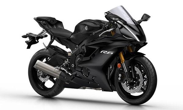 Yamaha R6 2017 Tech Black