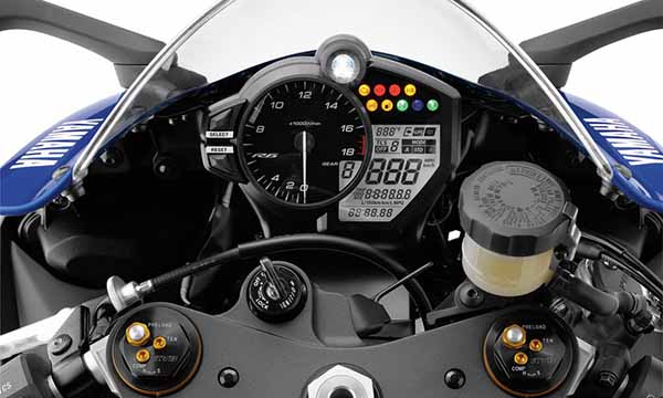 Yamaha R6 2017 Dashboard