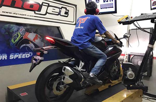 Dynotest Honda CBR250RR
