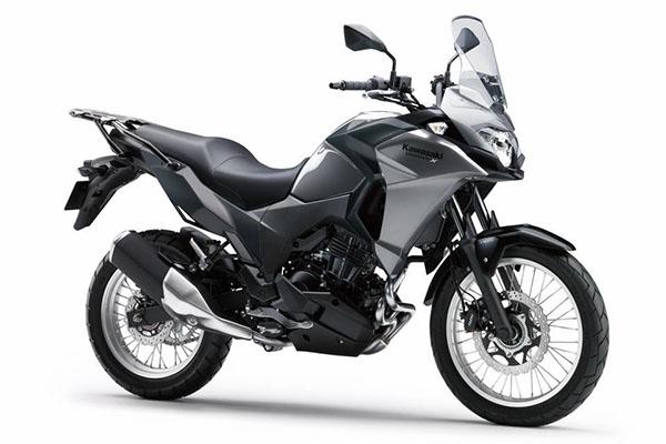 Pilihan warna Kawasaki Versys-X 250 standar warna Abu-abu