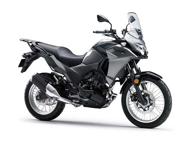 Kawasaki Versys-X 250 abu-abu