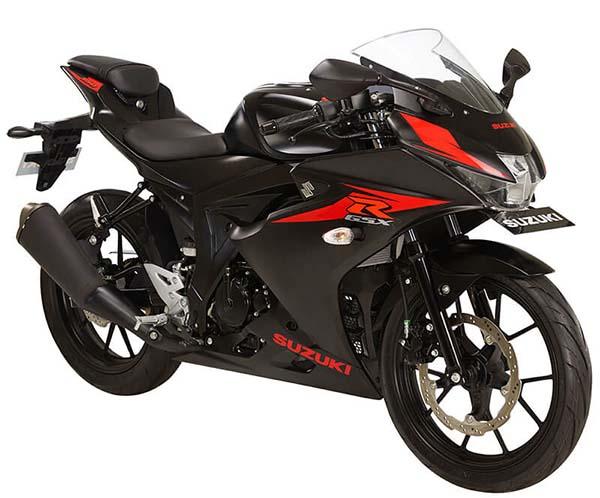 Pilihan Warna Suzuki GSX-R150 warna Matt Titan Black