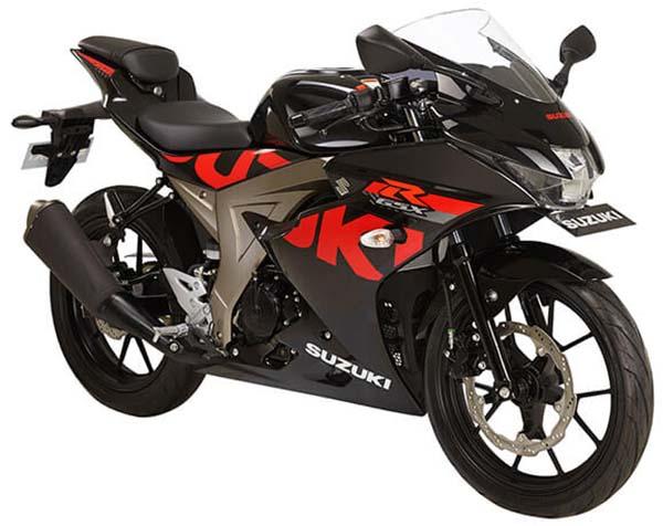 Pilihan Warna Suzuki GSX-R150 warna Titan Black
