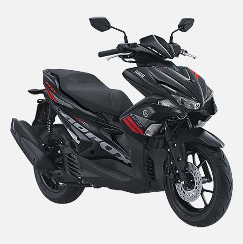 Pilihan Warna Yamaha Aerox 155 warna Black