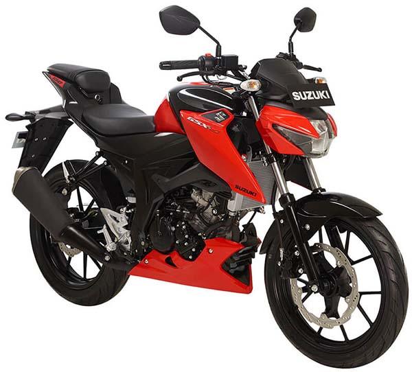 Pilihan Warna Suzuki GSX-S150 warna Stronger Red