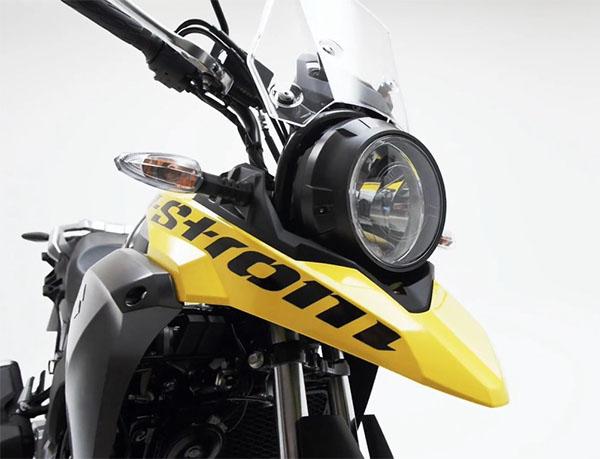 Tampilan depan Suzuki V-Strom 250 ABS