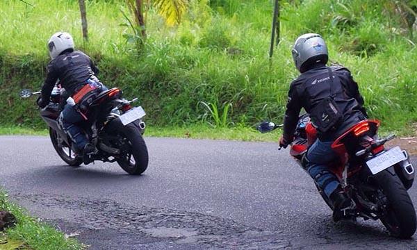 Touring Honda CBR250RR keliling Bali
