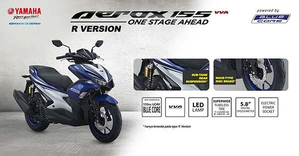 Yamaha Aerox 155 R-version