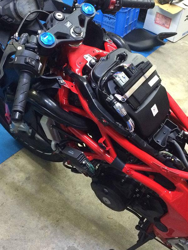 Posisi ECU Honda CBR250RR