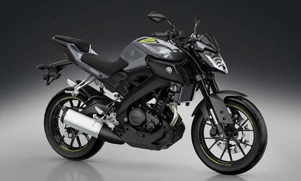 Yamaha MT-125 model 2016