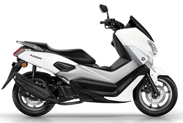 Yamaha NMax Model Year 2017 Putih