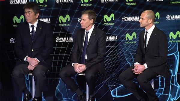 Masahiko Nakajima, Lin Jarvis dan Massimo Meregalli