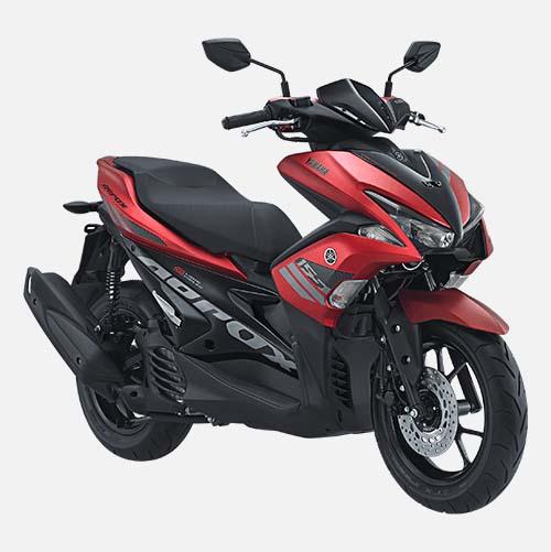 Pilihan Warna Yamaha Aerox 155 warna Matte Red