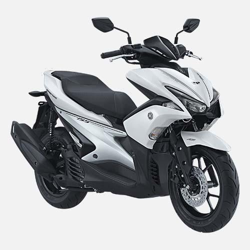 Pilihan Warna Yamaha Aerox 155 warna White