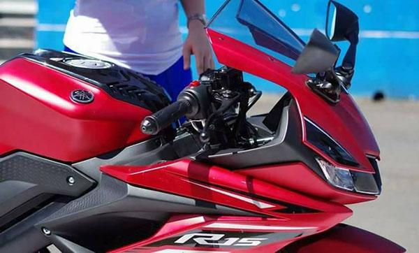 Yamaha R15 2017 Merah Doff