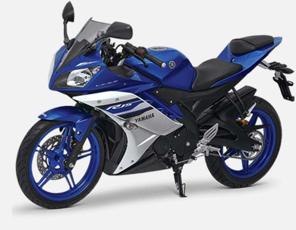 Yamaha R15 v2 Racing Blue