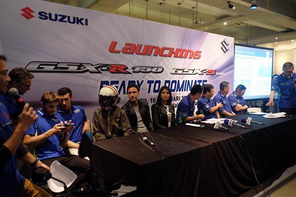 Brand Ambassador Suzuki GSX-R150 dan GSX-S150
