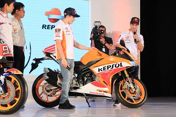 Marquez perkenalkan CBR250RR Repsol