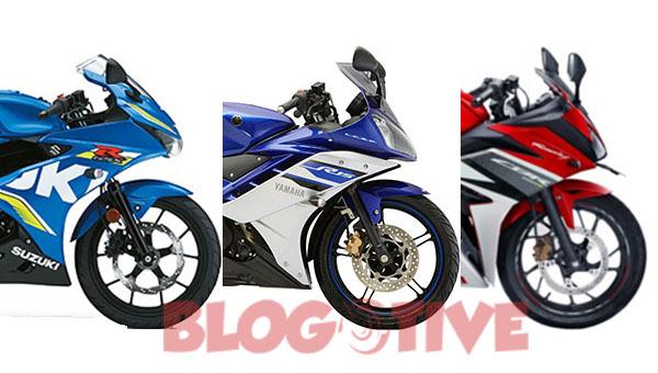 Suzuki GSX-R150, Old R115 dan CBR150R