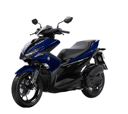 Aerox 125 warna biru