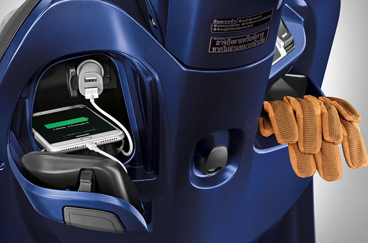 All New Scoopy 2017 Thailand AC Shocket Charger