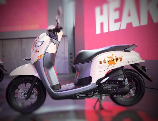 All New Scoopy 2017 tipe Playful